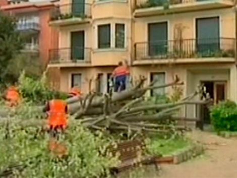 Tormenta Petra causa graves daños en España