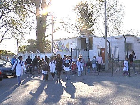 Padres de escuela de Casavalle piden más seguridad para sus hijos