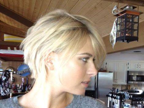 Sharapova confesó: no me corté el pelo