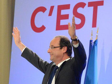Hollande adelanta a Sarkozy en Francia según datos oficiales