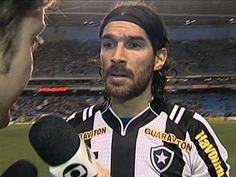 Hat trick de Sebastián Abreu en el Botafogo