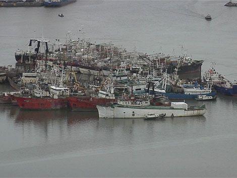 ANP retiró 35 barcos inactivos del Puerto de Montevideo