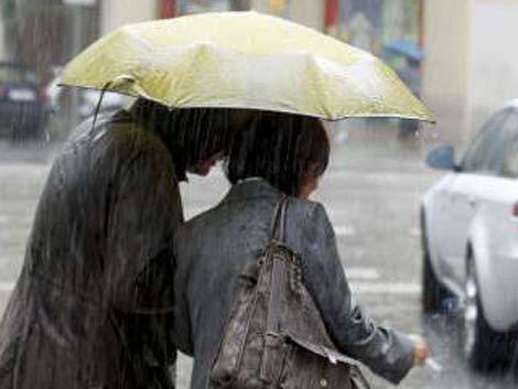 Baja un poco la temperatura y se producirán lluvias dispersas