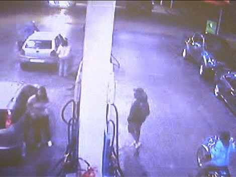 Analizan video de rapiña a estación de servicio en Carrasco