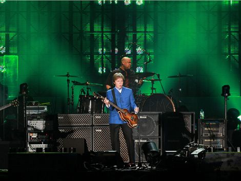 Paul McCartney hizo historia y emocionó en el Centenario