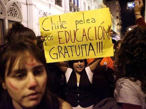 Chile prepara impuesto directo para pagar reforma educativa