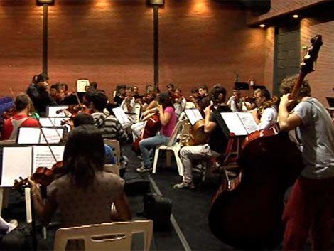 La orquesta juvenil se presentará con mas de 100 niños y jóvenes
