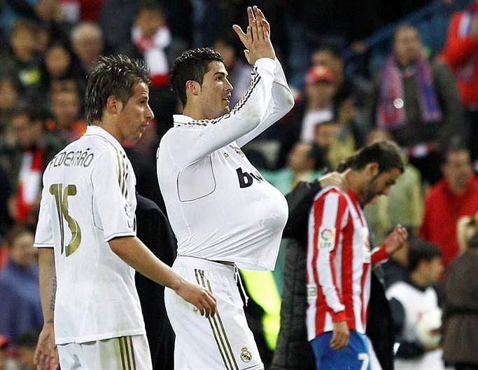 Tres goles de Ronaldo solucionaron el clásico en Madrid