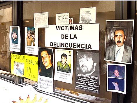Víctimas de delincuencia presentan proyecto de ley de amparo