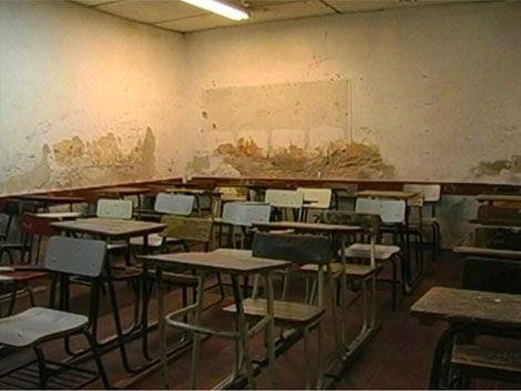 Plan de shock edilicio comienza en 50 centros educativos