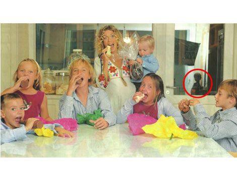 Maru Botana habló del supuesto fantasma en su foto familiar
