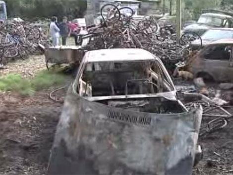 Depósito judicial de Pando sufrió incendio intencional