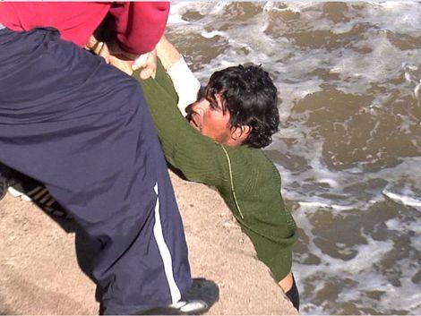 Armada le da trabajo al rescatista Nicolás Pereyra