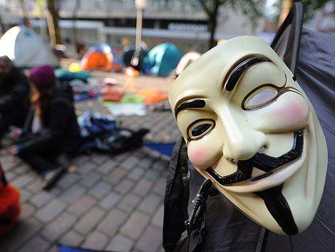 Anonymous bloquea la web del ministerio del Interior británico