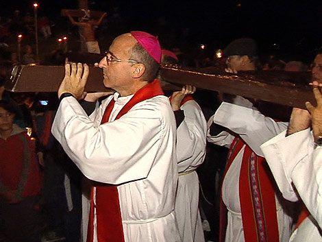 En el Cerro de Montevideo se recordó el calvario de Jesucristo