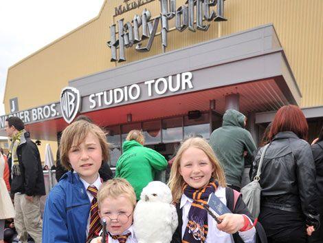 El set del film Harry Potter se convirtió en un museo para fans