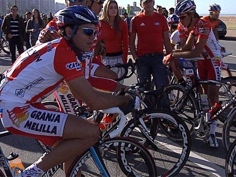 El estadounidense Hanson ganó quinta etapa de la Vuelta Ciclista