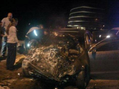 Declara el conductor detenido por accidente múltiple en Maldonado