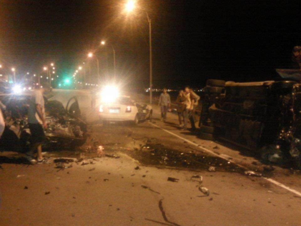Un muerto y heridos graves en múltiple choque en Punta del Este