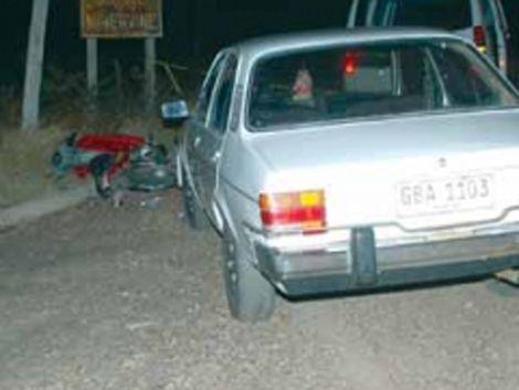 Violencia de género: mujer furiosa atropelló a su esposo en Salto