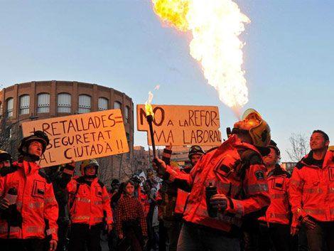 España: gobierno descarta modificar la reforma tras la huelga