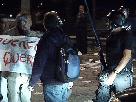 Policía justificó su actuación en defensa de derechos de terceros