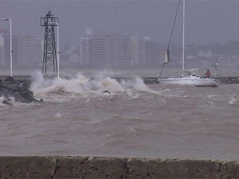 Alerta amarilla por vientos fuertes y probables tormentas