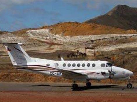 Fuerza Aérea chilena mantiene búsqueda de avioneta desaparecida