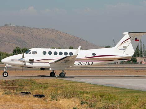 Detienen la búsqueda del avión perdido en Chile por el clima