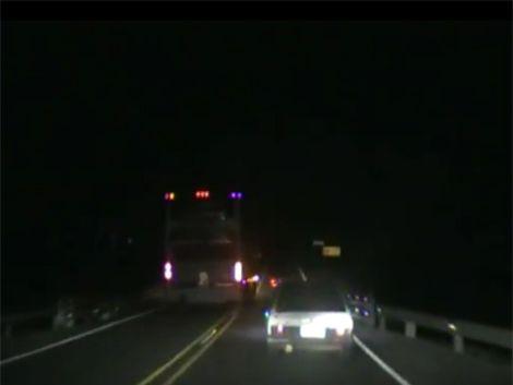 Analizan infracciones de chofer de bus filmadas por automovilista
