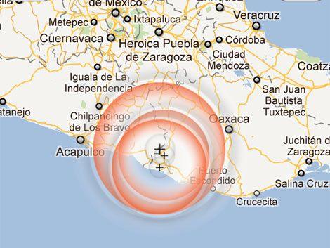 Descartan posibilidad de tsunami tras terremoto en México