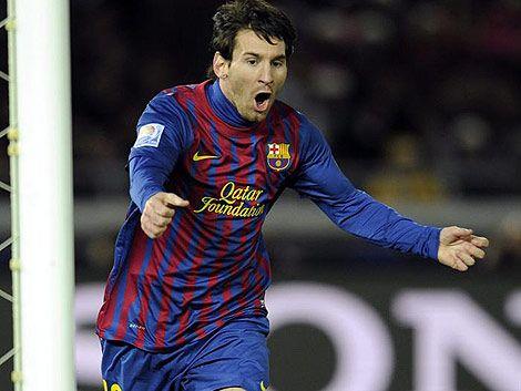 Messi con el récord histórico en Barça