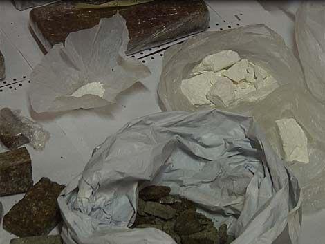 Ocho procesados por narcotráfico; 11 kilos de cocaína incautados