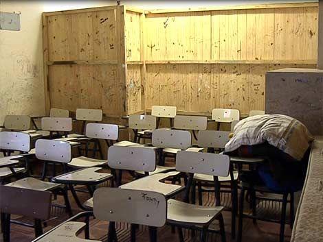 Clases suspendidas en nueve liceos del país
