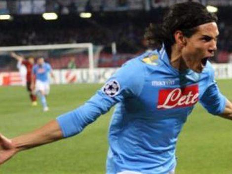 Cavani erró un penal pero hizo dos goles ante Udinese
