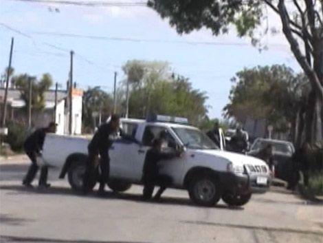 Copamiento y tiroteo en una casa de Toledo