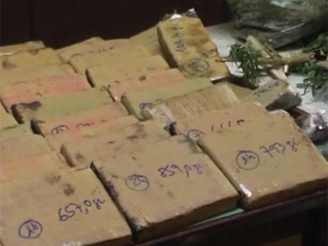 Cuatro procesados con prisión en Treinta y Tres por narcotráfico