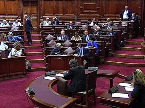 Oficialismo y oposición cruzaron opiniones por Memoria Anual 2011
