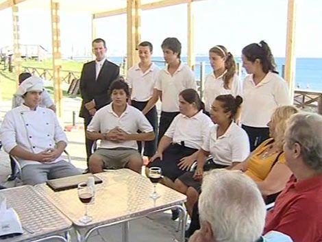 Exitosa experiencia de restaurante de UTU en Maldonado