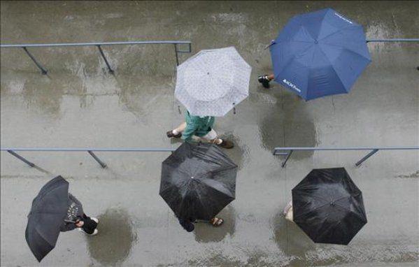 Lunes inestable y capicúa: empieza con lluvias y termina igual