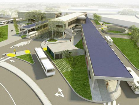El lunes comienzan a construir terminal de Belloni y 8 de Octubre