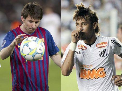 Messi y Neymar sumaron 8 goles en un solo día