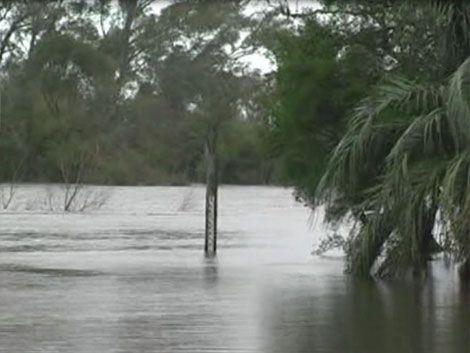 Varias personas evacuadas en Rocha por inundaciones