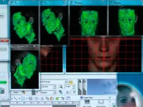 En Londres prueban un escaner que ayudará a reconstruir rostros