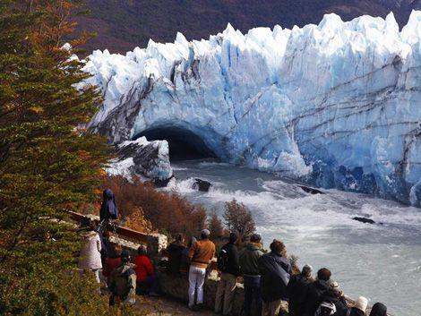 Ruptura del Perito Moreno fue en la madrugada cuando nadie veía