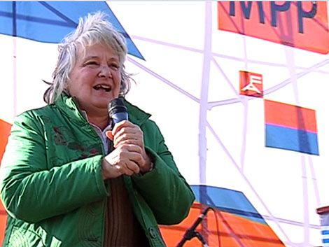 Topolansky se baja de la carrera por candidatura a la Presidencia