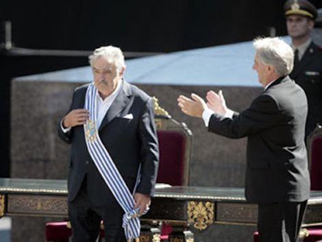 Mujica emitió un mensaje de 9 minutos y agradeció apoyo