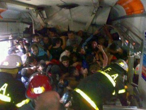 Foto de la tragedia de Once desata gran polémica en Argentina