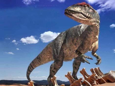 El tiranosaurio rex