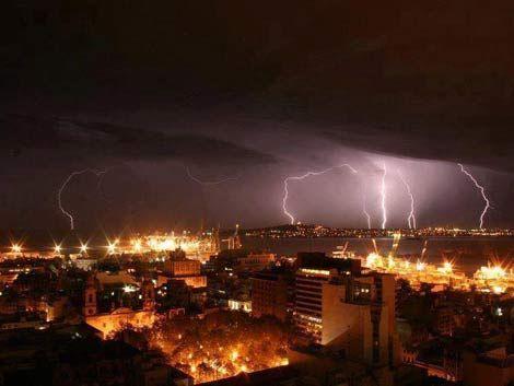 Meteorología advierte por posibles tormentas como la del lunes